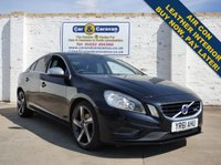 USED 2011 61 VOLVO S60 2.0 D3 R-DESIGN 4d 161 BHP Volvo History Dual A/C Leather Buy Now, Pay in 2 Months!