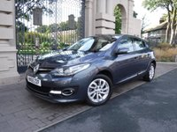 USED 2016 65 RENAULT MEGANE 1.5 DYNAMIQUE NAV DCI 5d 110 BHP £0 ROAD TAX,26000MILES,SAT NAV,CRUISE CONTROL,AUTO STOP START,FULL SERVICE HISTORY,BLUETOOTH,AUX,USB,SPEED LIMITER,PARKING SENSORS,PART LEATHER