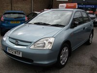 USED 2001 HONDA CIVIC 1.6 S 5d AUTO 109 BHP