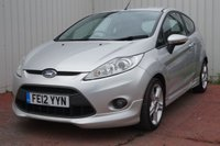 USED 2012 12 FORD FIESTA 1.6 ZETEC S 3d 118 BHP FULL SERVICE HISTORY