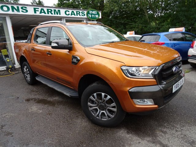 2016 16 FORD RANGER 3.2 WILDTRAK 4X4 DCB DOUBLE CAB PICK UP TDCI 1d 197 BHP FOUR WHEEL DRIVE