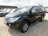 2015 MITSUBISHI L200 2.4 DI-D 4X4 WARRIOR DOUBLE CAB PICK UP AUTO 178 BHP 45,499 MILES £14950.00