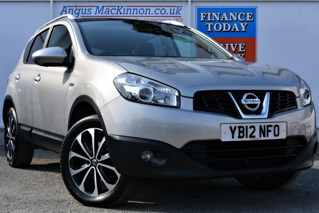 2012 12 NISSAN QASHQAI 1.6 N-TEC PLUS Great Value Petrol 5dr Family SUV