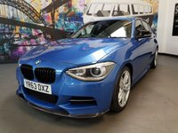 USED 2013 63 BMW 1 SERIES 3.0 M135I 5d AUTO 316 BHP