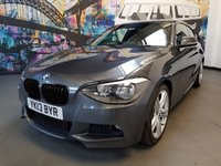 USED 2013 13 BMW 1 SERIES 2.0 118D M SPORT 3d 141 BHP