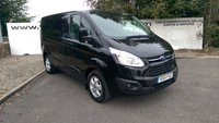 USED 2015 15 FORD TRANSIT CUSTOM 270 2.2 LIMITED L1 H1 125 BHP **70 VANS IN STOCK**