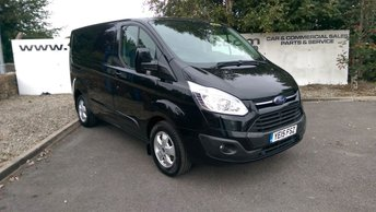 2015 FORD TRANSIT CUSTOM 270 2.2 LIMITED L1 H1 125 BHP **70 VANS IN STOCK** £11850.00