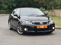 2014 LEXUS CT 1.8 200H ADVANCE 5d AUTO 136 BHP £12950.00