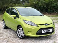 USED 2008 58 FORD FIESTA 1.2 STYLE 3d 81 BHP