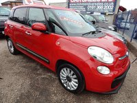 2014 FIAT 500L 1.2 MULTIJET POP STAR DUALOGIC 5d AUTO 85 BHP £7495.00