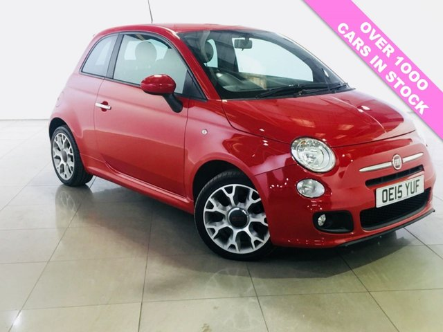 View our 2015 15 FIAT 500 1.2 S 3d 69 BHP