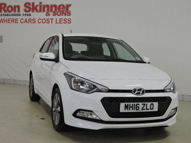 View our 2016 16 HYUNDAI I20 1.2 MPI SE BLUE DRIVE 5d 83 BHP