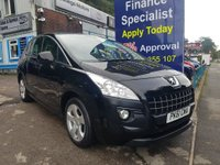 2011 PEUGEOT 3008 1.6 SPORT HDI 5d 112 BHP, only 56000 miles £5995.00