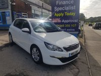 2015 PEUGEOT 308 1.6 BLUE HDI S/S ACTIVE 5d 100 BHP, only 27000 miles, 1 Owner £7995.00
