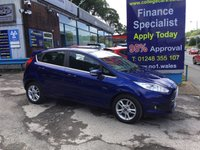 USED 2015 15 FORD FIESTA 1.2 ZETEC 5d 81 BHP, only 13000 miles, 1 Owner ***APPROVED DEALER FOR CAR FINANCE247 AND ZUTO ***