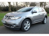 USED 2010 60 NISSAN MURANO 2.5 dCi 5dr FULL SERVICE HISTORY, DIRECT FROM MAIN DEALER