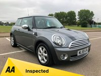 USED 2009 59 MINI HATCH ONE 1.4 ONE GRAPHITE 3d 94 BHP