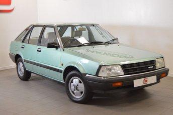 1982 DATSUN STANZA 1.8 SGL 5d AUTO 88 BHP £6995.00