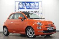 2015 FIAT 500 1.2 LOUNGE NEW MODEL HIGH SPEC 70 BHP £7240.00