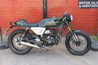 USED 2017 67 HANWAY HC 125 125cc CAFE RACER E4 11 BHP A great first bike, Free UK Delivery.