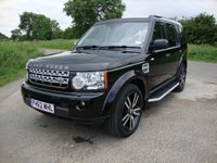 2013 LAND ROVER DISCOVERY 3.0 SDV6 HSE LUXURY 5d AUTO 255 BHP £24495.00