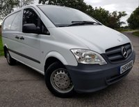USED 2012 12 MERCEDES-BENZ VITO 2.1 113 CDI 1d 2KEYS+CRUISE CONTROL+ELECTRICS+VAT