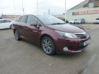 USED 2014 14 TOYOTA AVENSIS 1.8 VALVEMATIC ICON 5d 147 BHP SAT NAV * BLUETOOTH * GOT BAD CREDIT * WE CAN HELP