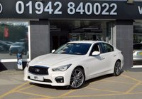 2016 INFINITI Q50 2.0 SPORT 4d AUTO 208 BHP £16695.00