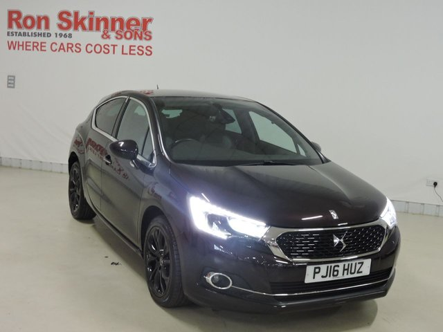 View our 2016 16 DS DS 4 (115)   1.6 BLUEHDI PRESTIGE S/S 5d 120 BHP