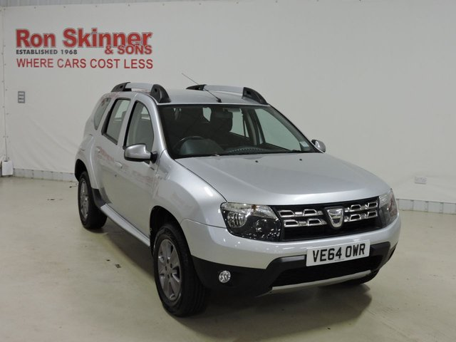 View our 2014 64 DACIA DUSTER 1.5 LAUREATE DCI 5d 107 BHP