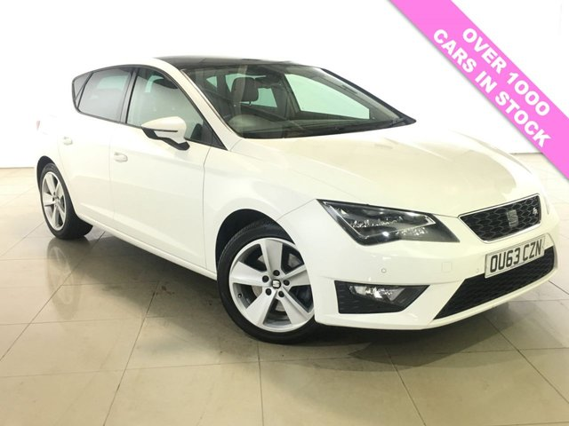 View our 2013 63 SEAT LEON 1.8 TSI FR TECHNOLOGY 5d 180 BHP
