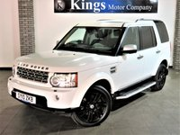 2010 LAND ROVER DISCOVERY 3.0 4 TDV6 HSE 5d AUTO £14680.00