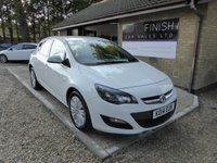 USED 2014 14 VAUXHALL ASTRA 1.6 EXCITE 5d 113 BHP # 12 MONTHS MOT # 6 MONTHS ROAD TAX # 1 KEEPER # 2 KEYS #