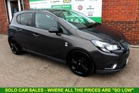 USED 2016 16 VAUXHALL CORSA 1.4 LIMITED EDITION ECOFLEX 5d 89 BHP +LOW TAX +LIMITED EDITION