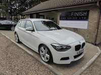 USED 2012 62 BMW 1 SERIES 2.0 118D M SPORT 5d 141 BHP # 1 KEEPER FROM NEW # £30 ROAD TAX #