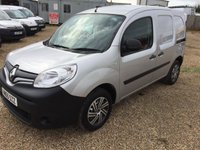 USED 2015 65 RENAULT KANGOO 1.5 ML19 DCI 1d 75 BHP 2015 SILVER KANGOO ONE OWNER FROM NEW 42000 MILES