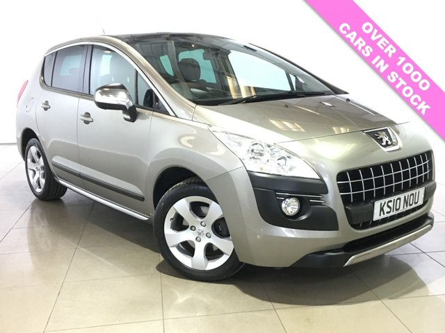 View our 2010 10 PEUGEOT 3008 1.6 EXCLUSIVE 5d 155 BHP
