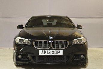 2013 BMW 5 SERIES 2.0 520D M SPORT 4d AUTO 181 BHP £12799.00