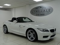 USED 2013 13 BMW Z4 2.0 Z4 S DRIVE M SPORT ROADSTER 2d  SUPERB, MASSIVE SPEC, LEATHER, HEATED SEATS,