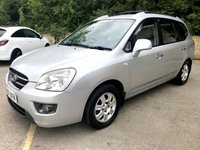 2007 KIA CARENS 2.0 GS CRDI 5d 7 SEATS, DEALER PX MARCH 19 MOT, 9 SERVICES £1790.00