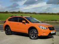 USED 2013 63 SUBARU XV D SE 147 BHP ONE OWNER, RARE TANGERINGE ORANGE