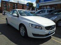 2014 VOLVO S60 2.0 D4 BUSINESS EDITION 4d 178 BHP £7694.00