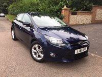 2011 FORD FOCUS 1.6 ZETEC 5d 124 BHP PLEASE CALL TO VIEW £SOLD