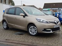 USED 2013 63 RENAULT SCENIC 1.5 DYNAMIQUE TOMTOM ENERGY DCI S/S 5d 110 BHP PRICE INCLUDES A 6 MONTH RAC WARRANTY, 1 YEARS MOT WITH 12 MONTHS FREE BREAKDOWN COVER
