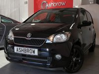 USED 2014 64 SKODA CITIGO 1.0 BLACK EDITION 5d 60 BHP £20 TAX, BLUETOOTH W/ AUDIO STREAMING, AUX IN FOR IPOD / USB, PRIVACY GLASS, BLACK 15 IN AURIGA ALLOY WHEELS, TYRE PRESSURE MONITORING SYSTEM, ELECTRIC WINDOWS, FRONT FOG LIGHTS, REV COUNTER, EXTERNAL TEMPERATURE DISPLAY, VAT Q