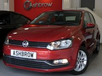 USED 2015 65 VOLKSWAGEN POLO 1.2 TSI SE 5d 90 S/S UPGRADE SAT NAV, UPGRADE CRUISE CONTROL, UPGRADE FRONT & REAR PARKING SENSORS, UPGRADE REAR VIEW CAMERA, UPGRADE ONLINE SERVICE - PREP FOR APP CONNECT & CAR NET SERVICES, BLUETOOTH PHONE & MUSIC STREAMING, DAB RADIO, AUX & USB, MANUAL 5 SPEED GEARBOX, START STOP TECHNOLOGY, 15 INCH 10 SPOKE ALLOY WHEELS, FRONT CORNERING LIGHTS, GREY CLOTH INTERIOR, LEATHER FLAT BOTTOM MULTIFUNCTION STEERING WHEEL, AIR CONDITIONING, CD HIFI WITH 2x SD CARD READERS, FULL SERVICE HISTORY, 1 OWNER FROM NEW, £20 RFL