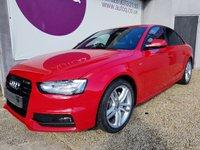 2014 AUDI A4 2.0 TDI S LINE 4d 174 BHP £13850.00