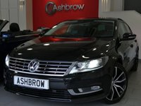 USED 2015 15 VOLKSWAGEN CC 2.0 TDI GT BLUEMOTION TECH 4d 150 S/S FACELIFT MODEL, UPGRADE 18 INCH LISBON BLACK ALLOY WHEEL, SAT NAV, FULL LEATHER INTERIOR, HEATED FRONT SEATS, FRONT & REAR PARKING SENSORS, DAB RADIO, BLUETOOTH PHONE & MUSIC STREAMING, PRIVACY GLASS, HEADLAMP WASHERS, CRUISE CONTROL, LIGHT & RAIN SENSORS WITH AUTO DIMMING REAR VIEW, MANUAL 6 SPEED, START STOP TECHNOLOGY, LEATHER MULTI FUNCTION STEERING WHEEL, SPORT SEATS, DUAL CLIMATE AIR CON, AUTO HOLD, LEATHER FRONT ARM REST, USB INPUT, 1 OWNER FROM NEW, FULL VW SERVICE HISTORY, £30 ROAD TAX