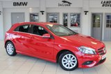 USED 2014 64 MERCEDES-BENZ A CLASS 1.5 A180 CDI ECO SE 5d 109 BHP MERCEDES BENZ SERVICE HISTORY + FREE ROAD TAX + BLUETOOTH + 16 INCH ALLOYS + AIR CONDITIONING + AUTOMATIC HOLD ASSIST