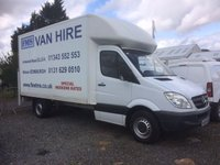 2009 MERCEDES-BENZ SPRINTER 311 CDI Luton with Taillift 2.1 109 BHP £6595.00